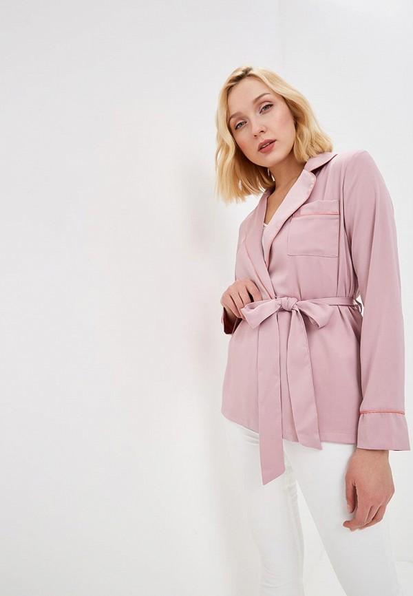 женский жакет glamorous, розовый