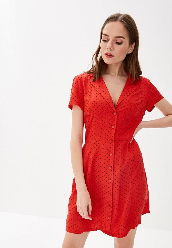 женское платье glamorous, красное