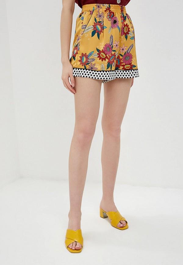 женские повседневные шорты glamorous, желтые