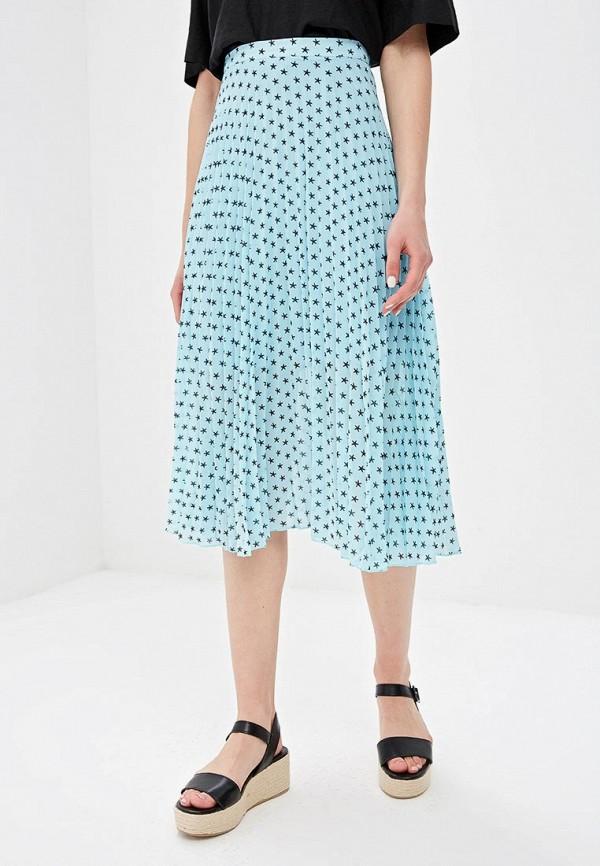 женская юбка glamorous, голубая