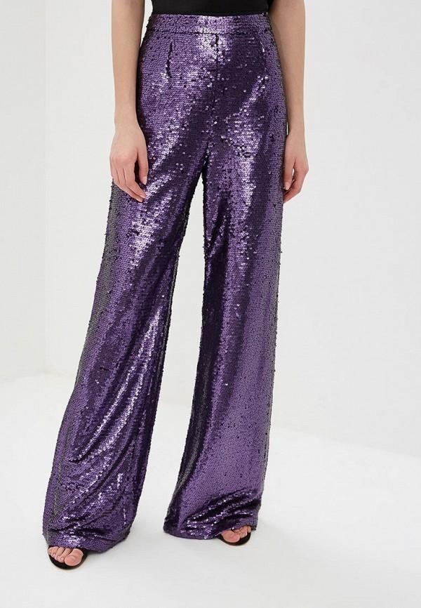 женские повседневные брюки glamorous, фиолетовые