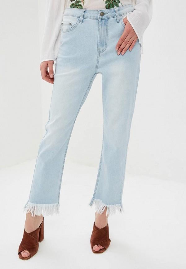 женские джинсы glamorous, голубые