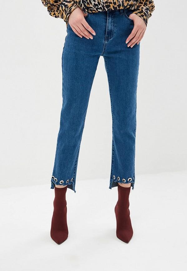 женские джинсы glamorous, синие
