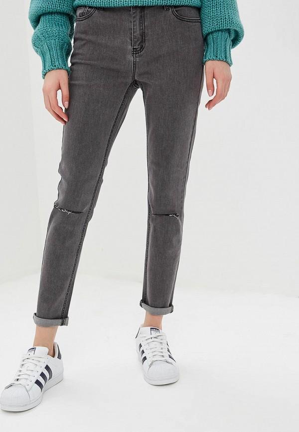 женские джинсы glamorous, серые