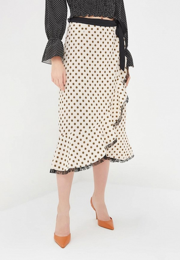 женская юбка glamorous, белая