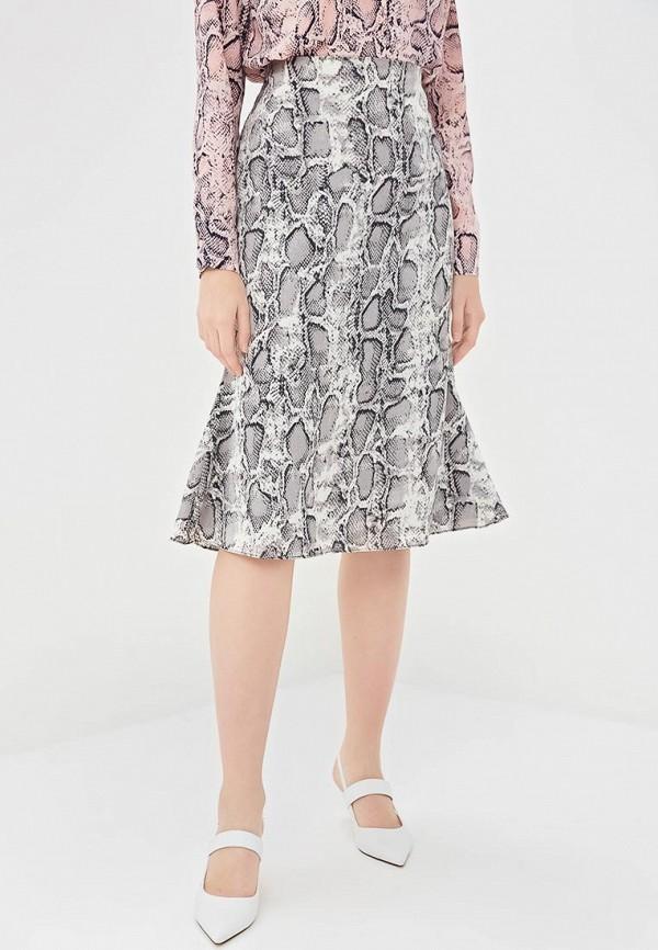 женская прямые юбка glamorous, серая