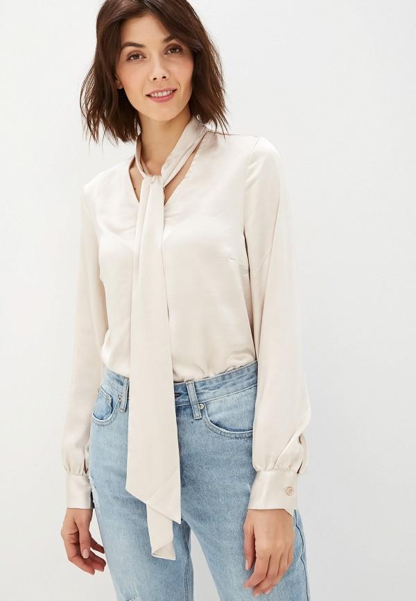 женская блузка glamorous, бежевая