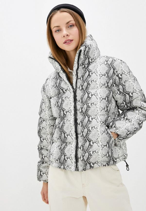 женская куртка glamorous, серая