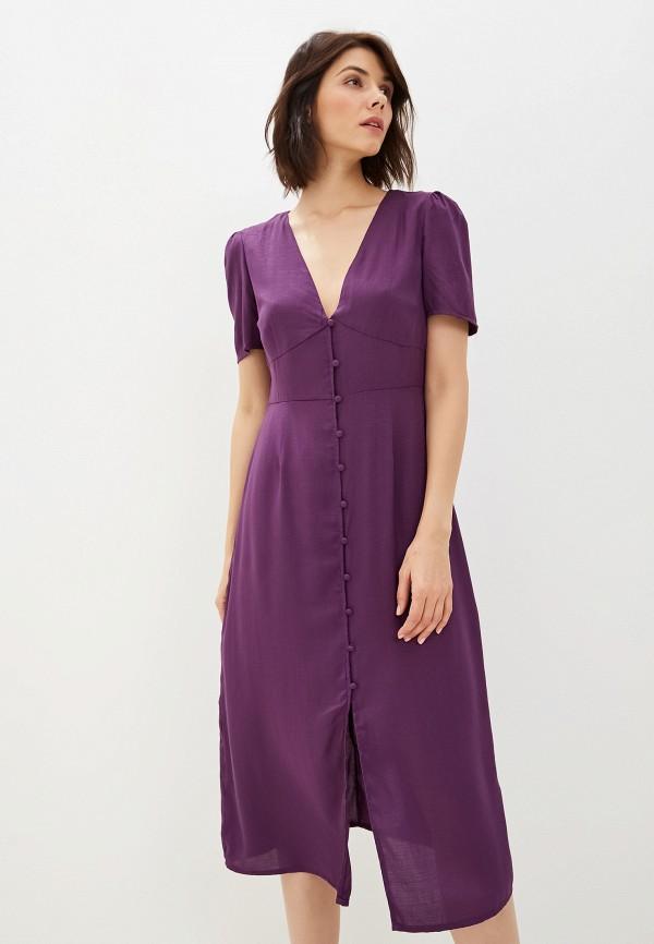 женское повседневные платье glamorous, фиолетовое