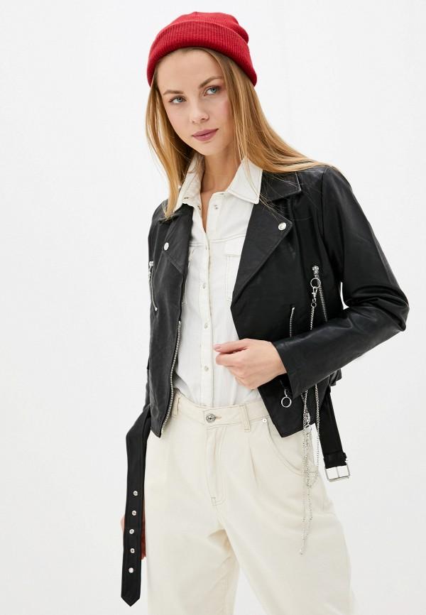 женская куртка glamorous, черная