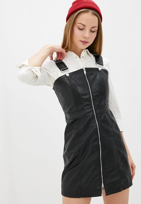 женский сарафан glamorous, черный