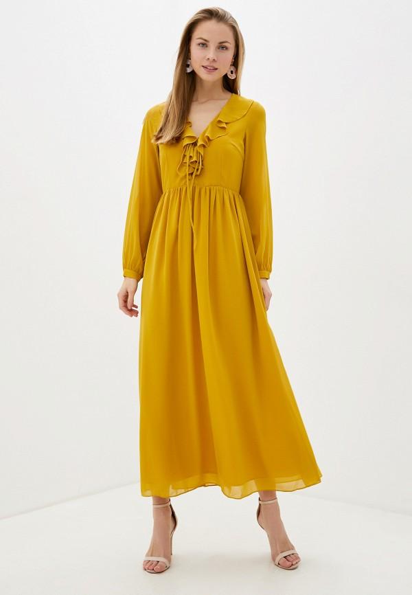 женское повседневные платье glamorous, желтое