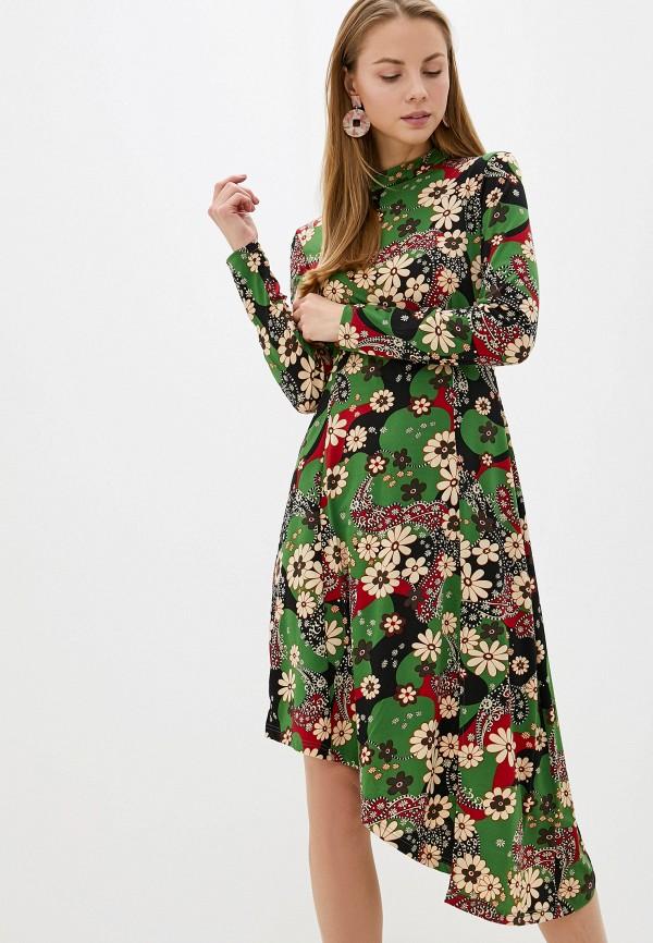 женское повседневные платье glamorous, зеленое