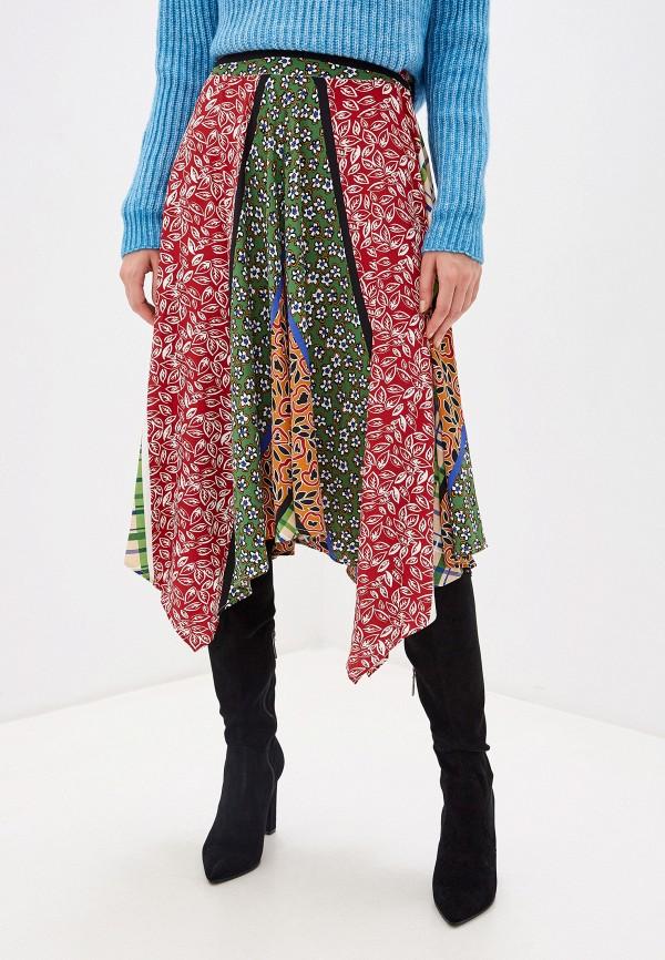 женская юбка glamorous, разноцветная