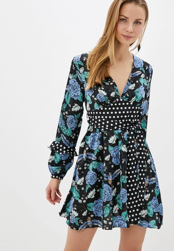 женское повседневные платье glamorous, черное