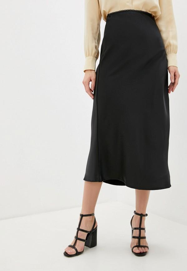 женская прямые юбка glamorous, черная