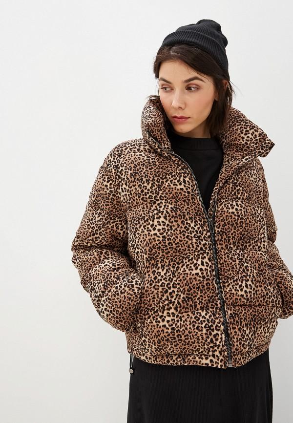 женская куртка glamorous, коричневая