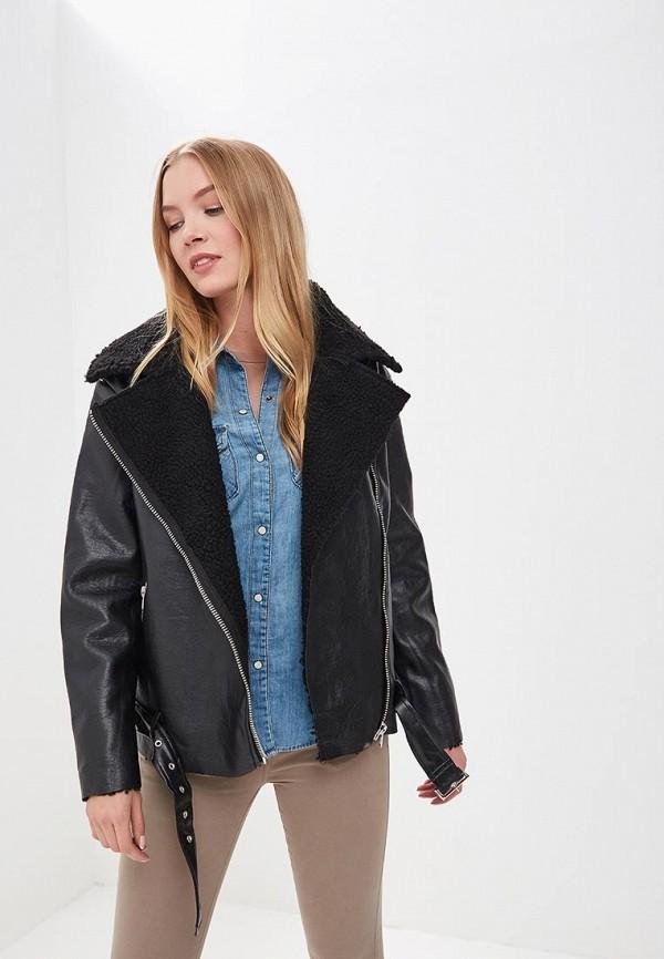 Куртка кожаная Glamorous Glamorous GL008EWFXT04 брюки glamorous glamorous gl008ewcbov6