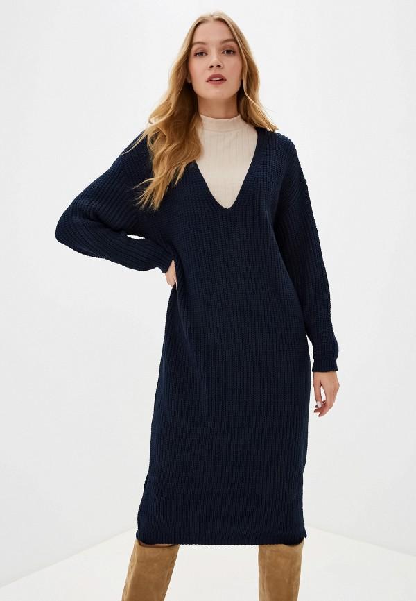 женское платье glamorous, синее