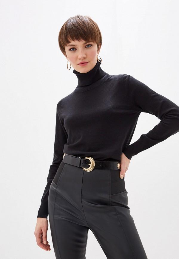 женская водолазка glamorous, черная