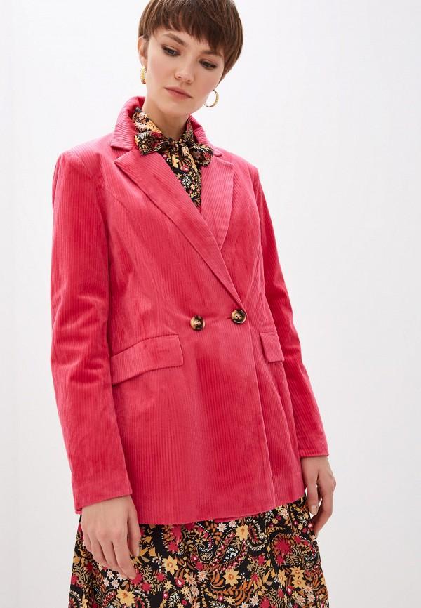 женский пиджак glamorous, розовый