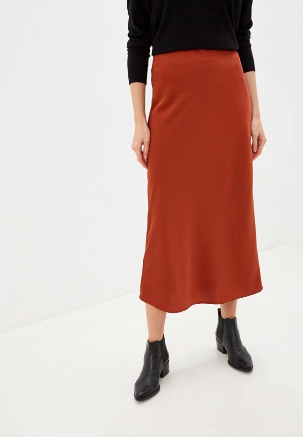 женская юбка glamorous, коричневая