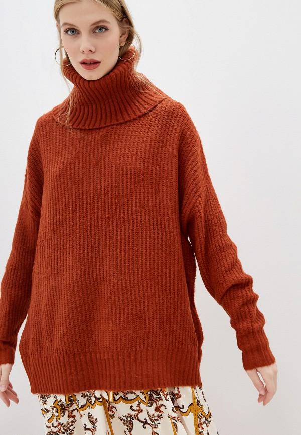 женский свитер glamorous, коричневый