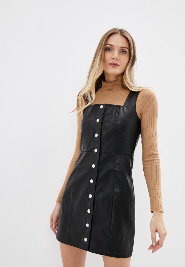 женское платье glamorous, черное