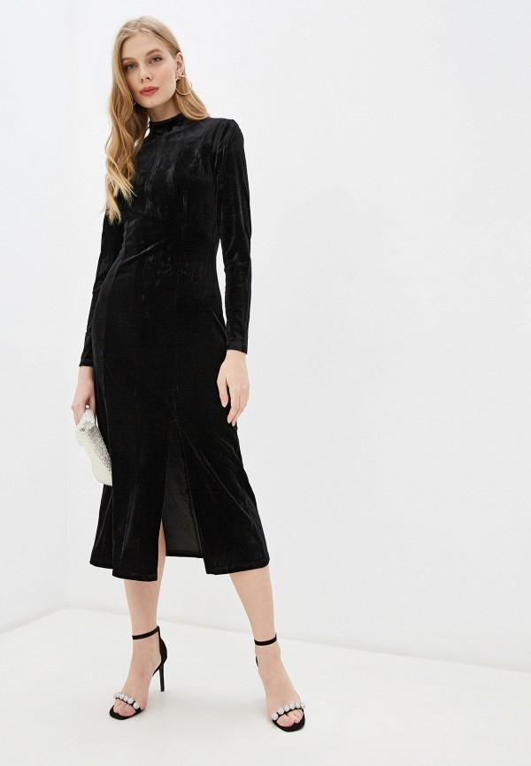 женское вечерние платье glamorous, черное