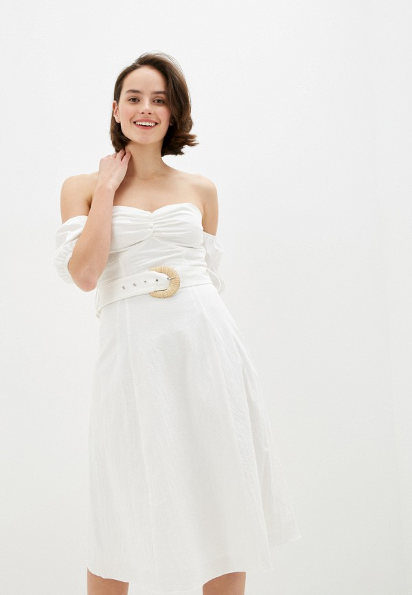женское платье glamorous, белое