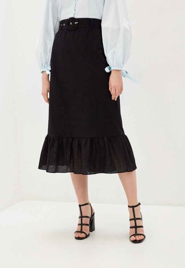 женская юбка-трапеции glamorous, черная