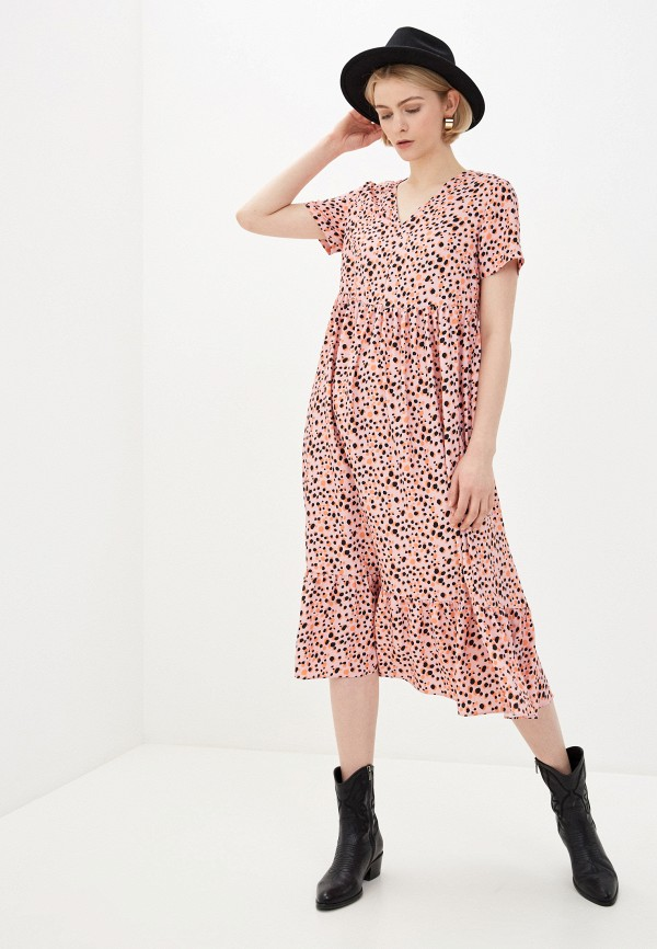 женское повседневные платье glamorous, розовое