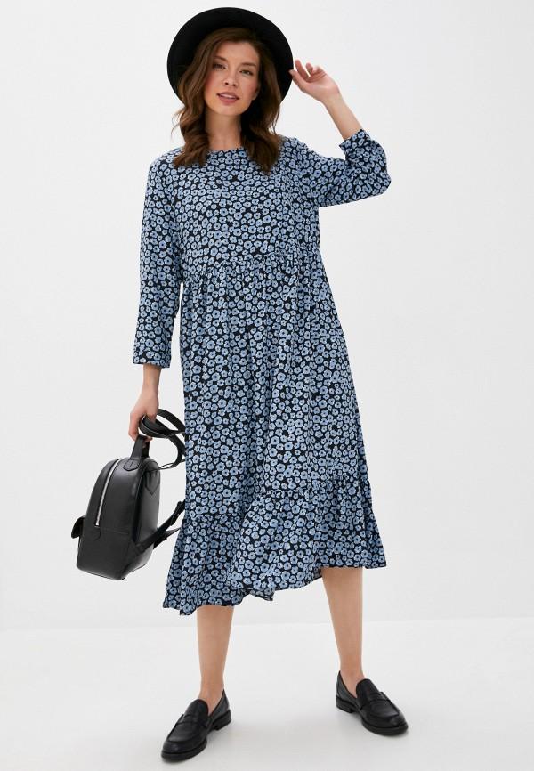 женское повседневные платье glamorous, синее