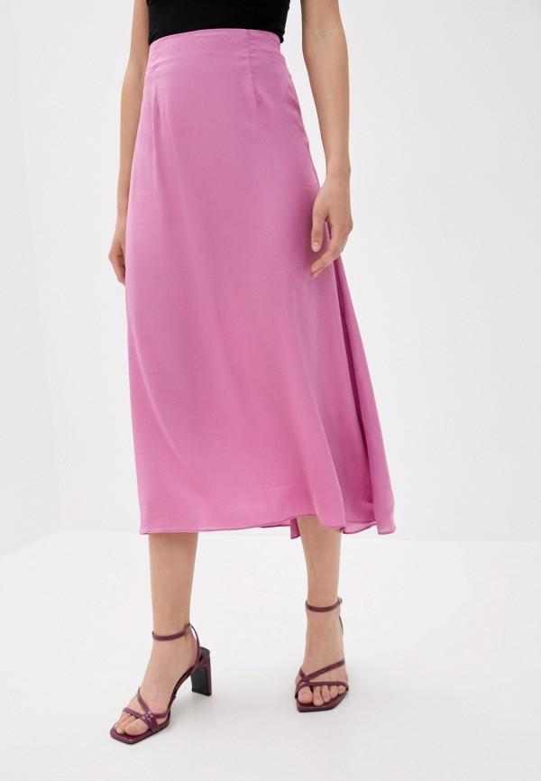 женская юбка glamorous, розовая