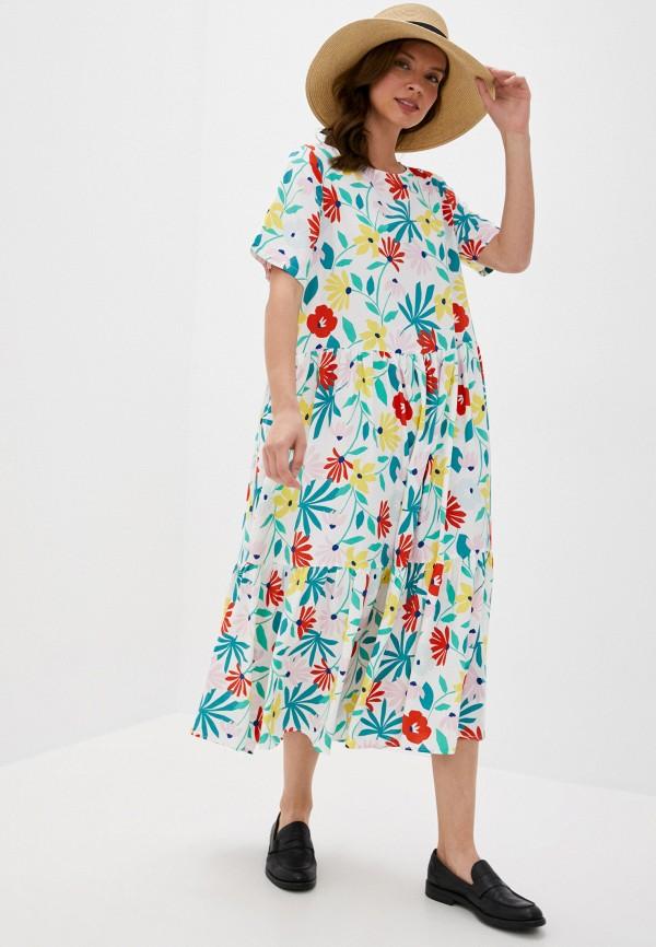 женское повседневные платье glamorous, белое