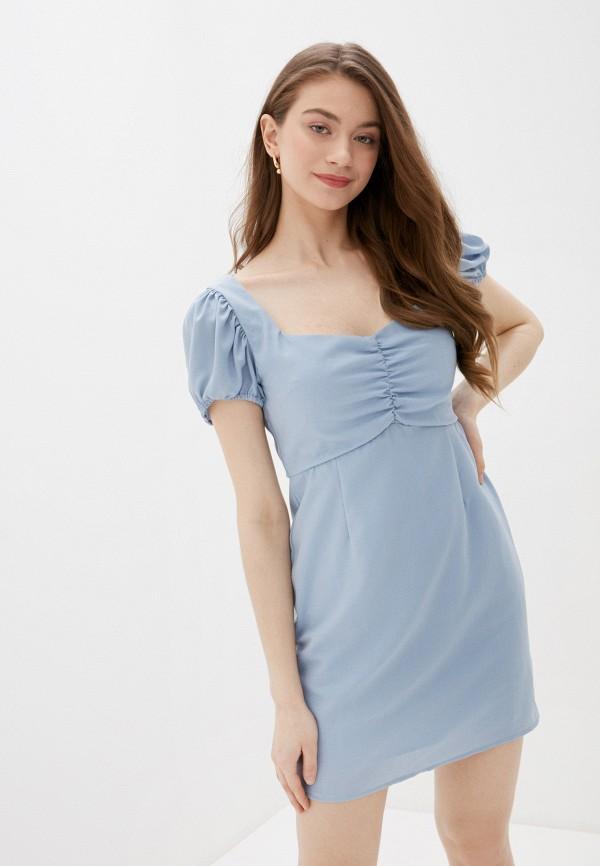 женское повседневные платье glamorous, голубое
