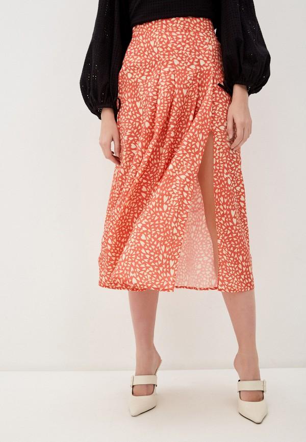 женская юбка-трапеции glamorous