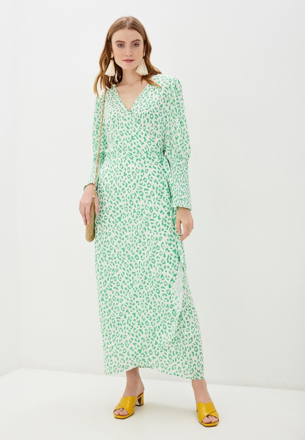 женское платье с запахом glamorous, белое