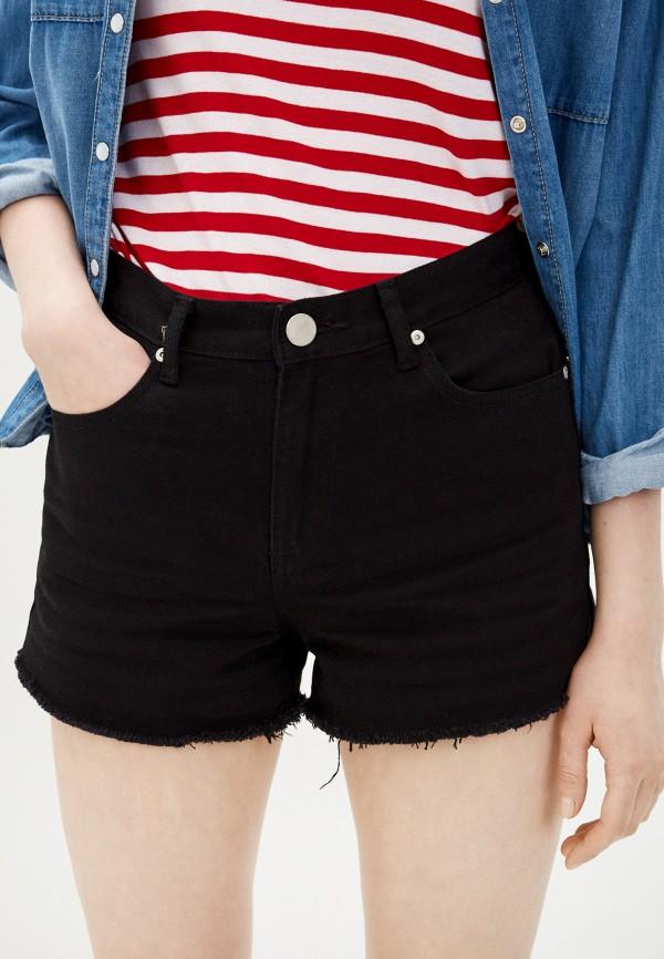 женские джинсовые шорты glamorous, черные