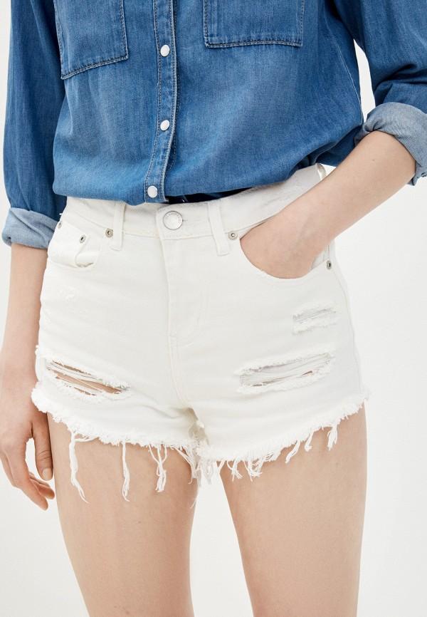 женские повседневные шорты glamorous, белые