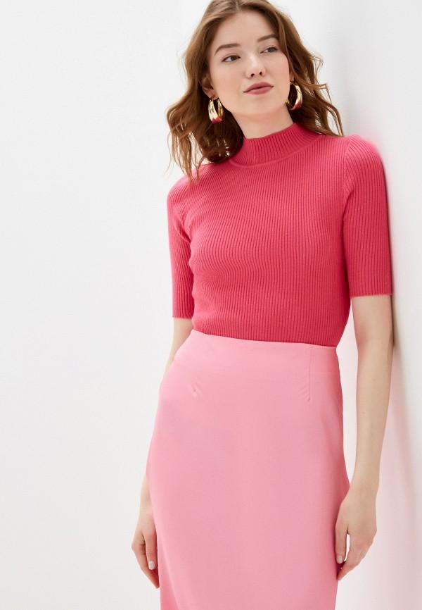 женская водолазка glamorous, розовая