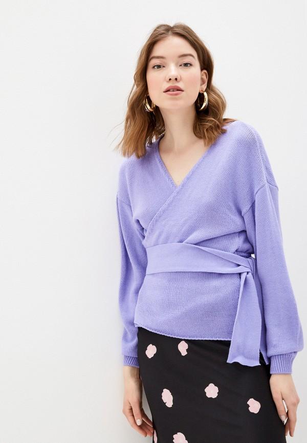 женский кардиган glamorous, фиолетовый