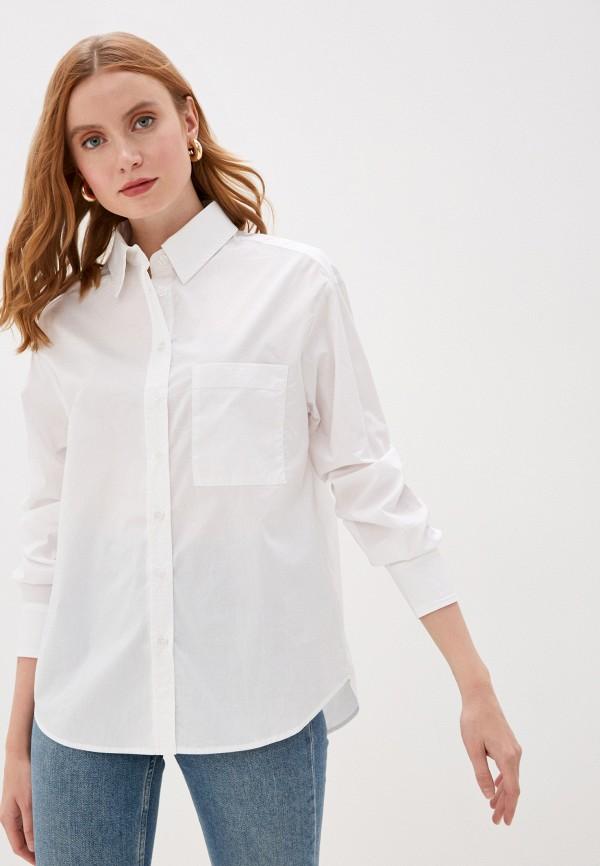 женская рубашка с длинным рукавом glamorous, белая