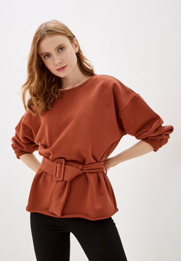 женский джемпер glamorous, коричневый