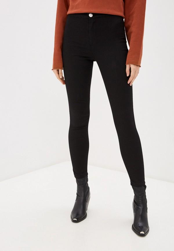 женские джинсы glamorous, черные