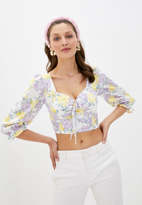 женская блузка glamorous, разноцветная