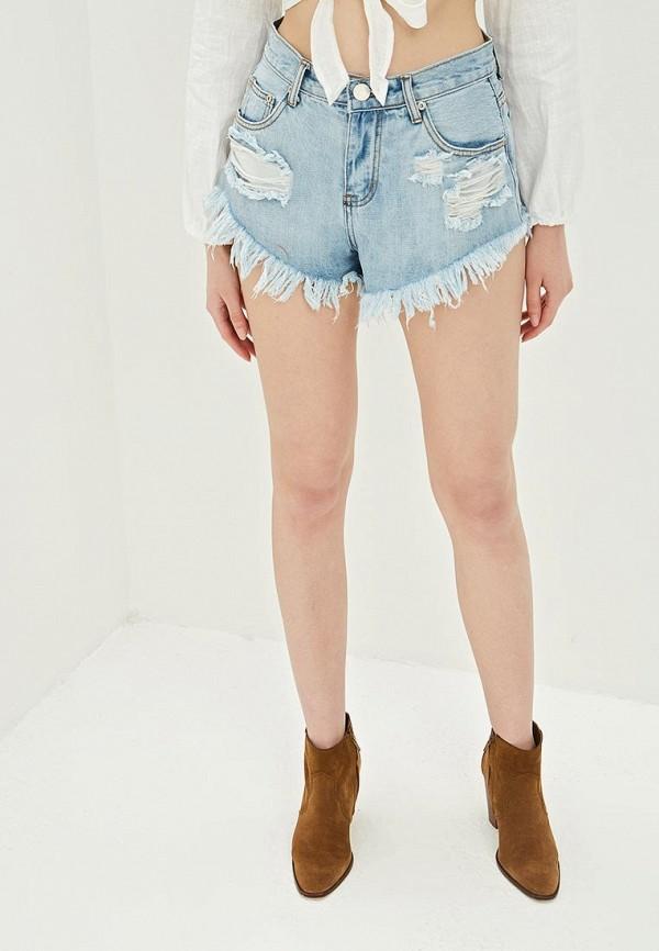 Шорты джинсовые Glamorous Glamorous GL008EWQPK56 недорго, оригинальная цена