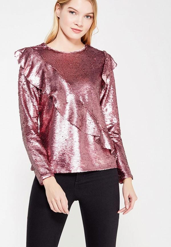 женская блузка glamorous, розовая