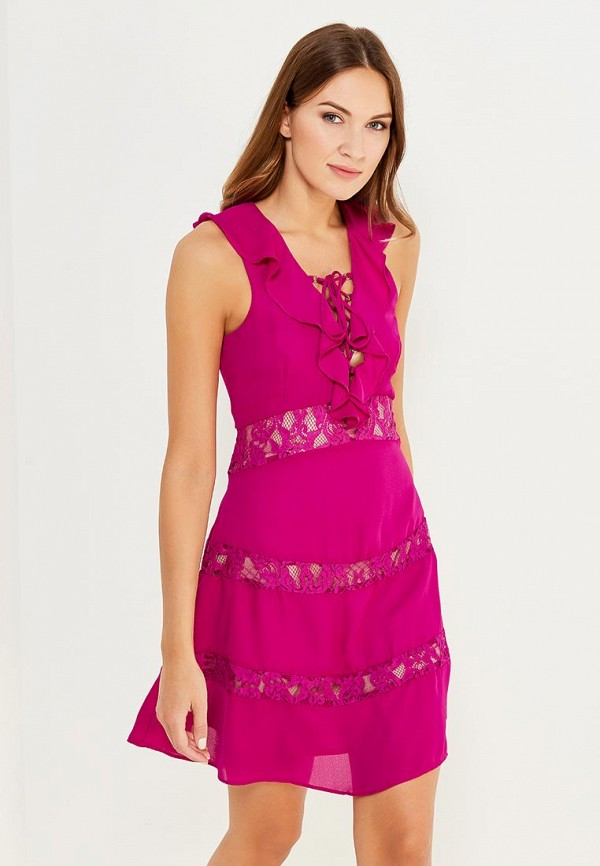 Платье Glamorous Glamorous GL008EWWNI38 цена 2017