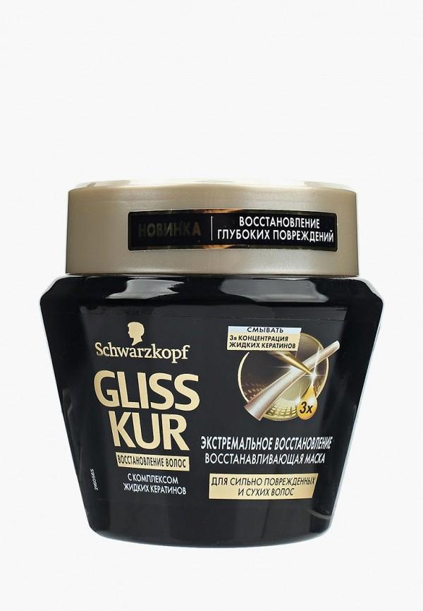 Купить Маска для волос Gliss Kur, Восстанавливающая Экстремальное восстановление, gl011lwwte31, Весна-лето 2019